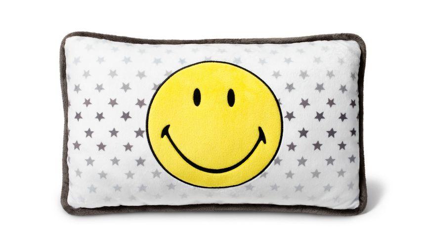 NICI Nici Smiley Friends Kissen Gelb Sterne 43X25