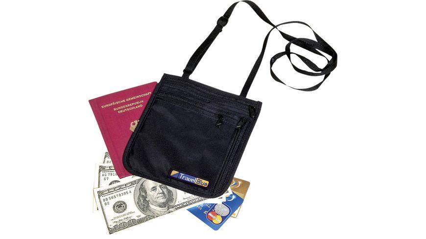 TravelBlue Sicherheitsbrieftasche zum Umhaengen