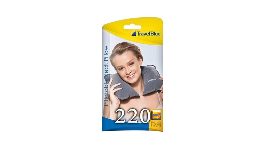 TravelBlue Nackenkissen aufblasbar