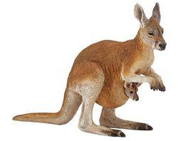 Papo Kaenguru mit Baby 15 cm