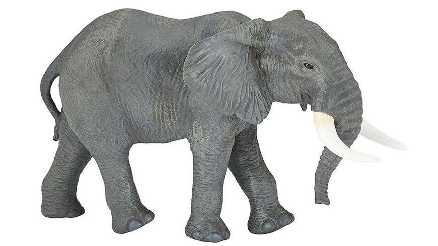 Papo Grosser afrikanischer Elefant 15 cm