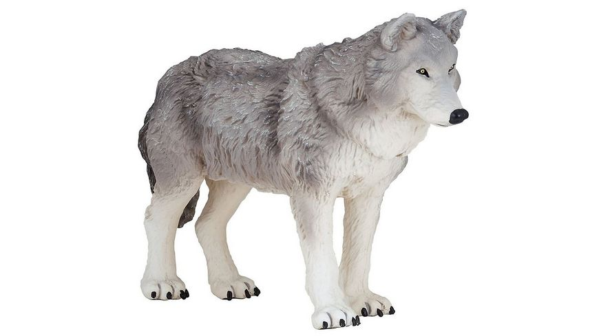 Papo Grosser Wolf 19 cm