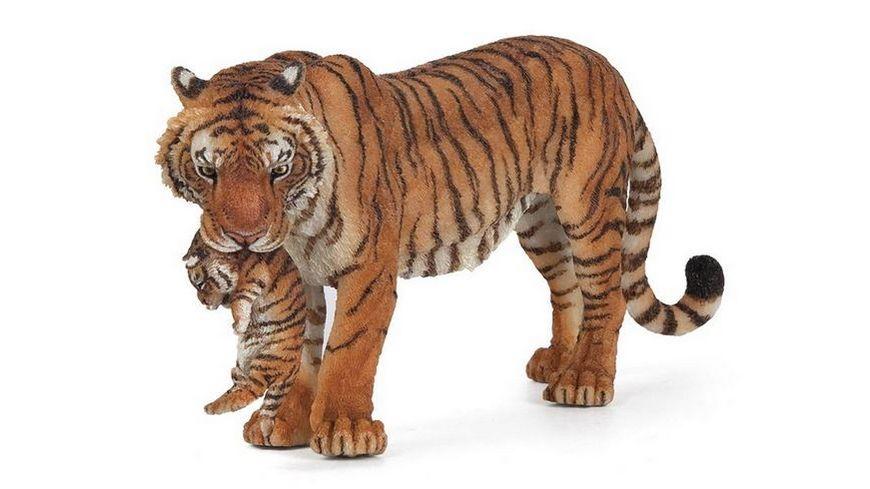 Papo Tigerin mit Jungtier 14 cm
