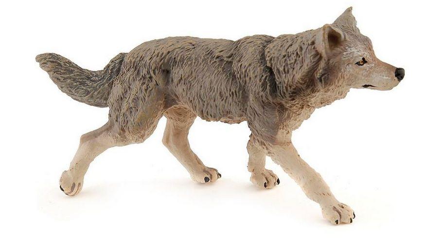 Papo Graue Woelfin 12 5 cm