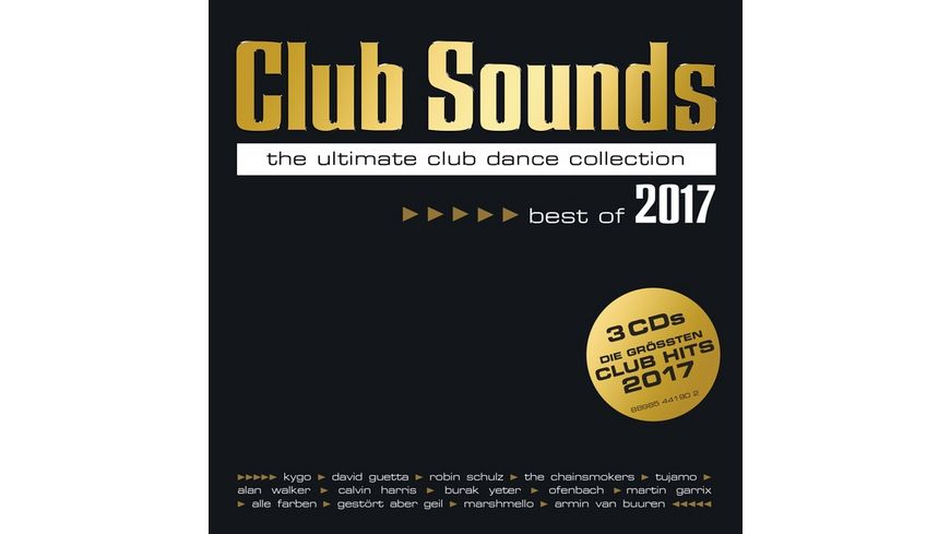 Club Sounds Best Of 2017