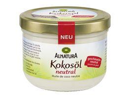 Alnatura Kokosoel neutral im Geschmack 400ML
