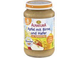 Alnatura Apfel mit Birne und Hafer