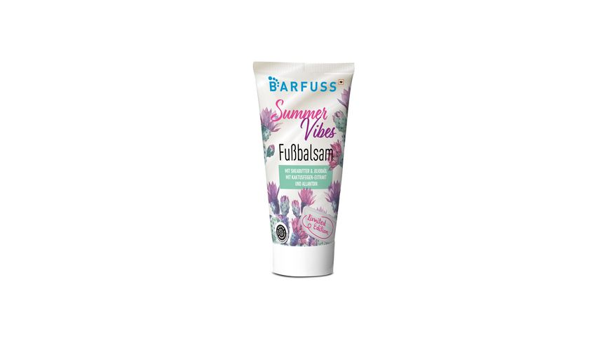 BARFUSS Fussbalsam Limited Edition mit Duft Tropical Cocktail