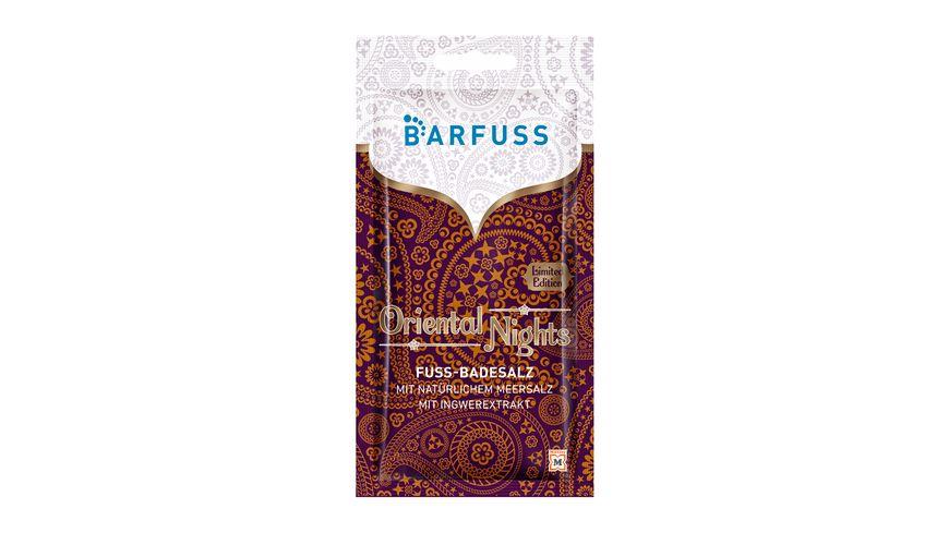 BARFUSS Fuss Badesalz Oriental Nights