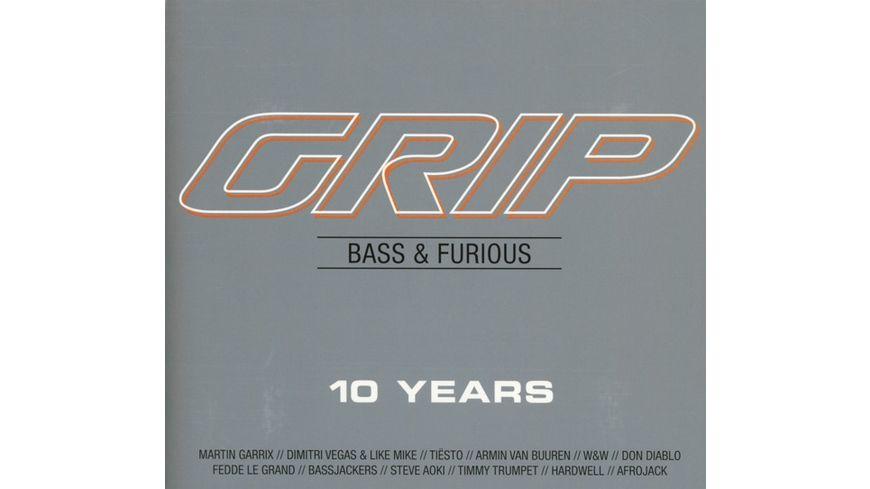 GRIP Bass Furious 10 Years