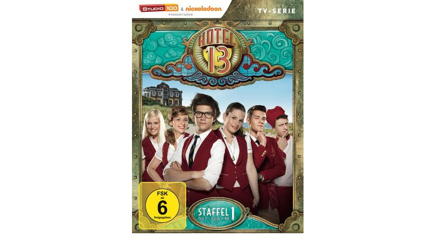 Hotel 13 Staffel 1 Teil 1 3 DVDs