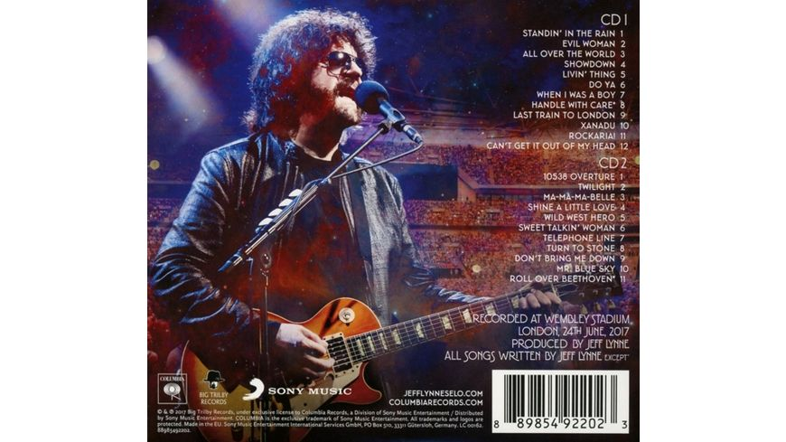 Jeff Lynne s ELO Wembley or Bust 2 CD