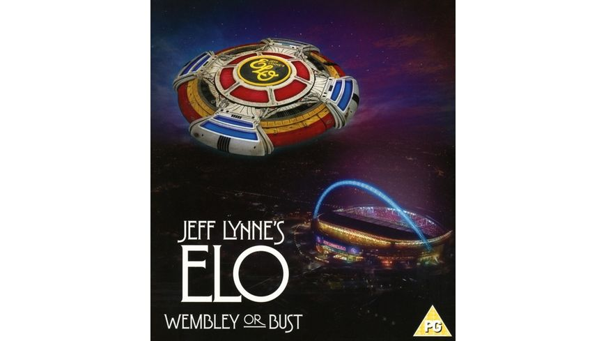 Jeff Lynne s ELO Wembley or Bust 2 CD 1 DVD