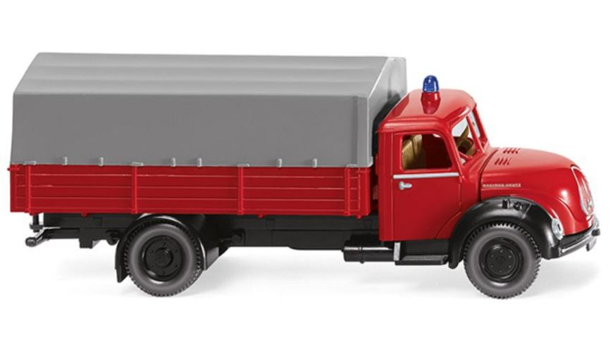 WIKING 0861 43 Feuerwehr Pritschen Lkw Magirus