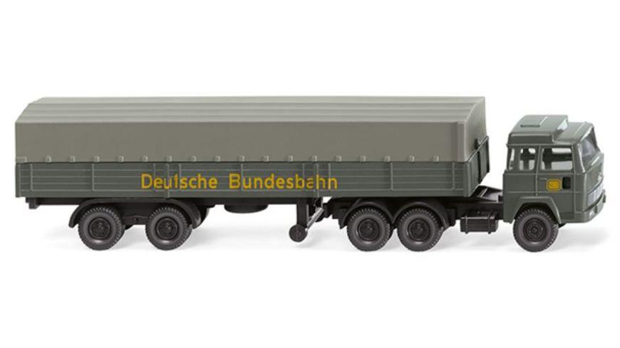 WIKING 0956 10 Pritschensattelzug Magirus DB