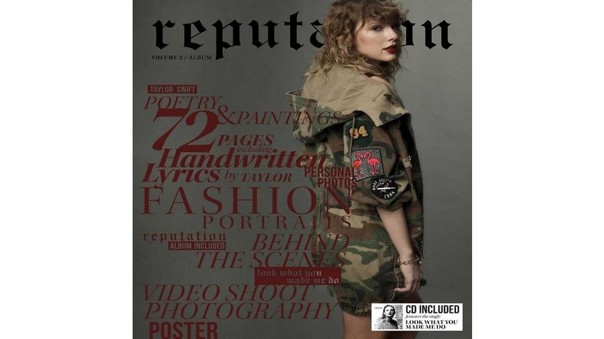 Reputation Vol 2 Special Edt