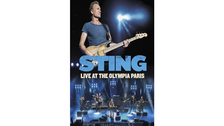 Live At The Olympia Paris DVD