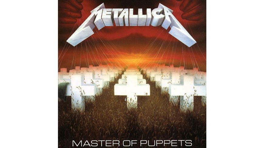 Master Of Puppets Remastered 180gr Vinyl