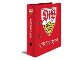 HERMA Ordner A4 VFB Stuttgart rot