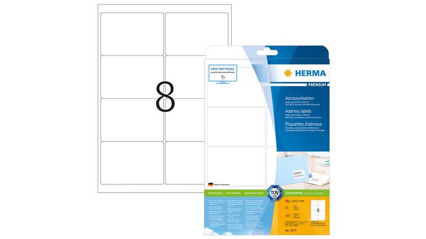 HERMA Premium A4 Etiketten 99 1X67 7