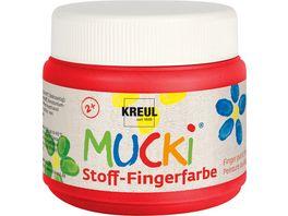 MUCKI Stoff Fingerfarbe