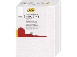 SOLO GOYA Keilrahmen 3er Set Basic Line 18 x 24 cm