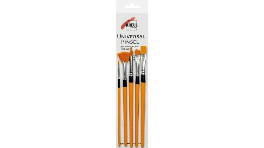 KREUL Universalpinsel Synthetics 5er Set