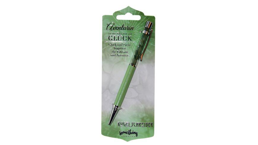 H H Kugelschreiber Aventurin