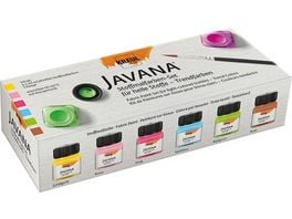 KREUL Javana Stoffmalfarben Set Fresh Color 6 x 20ml