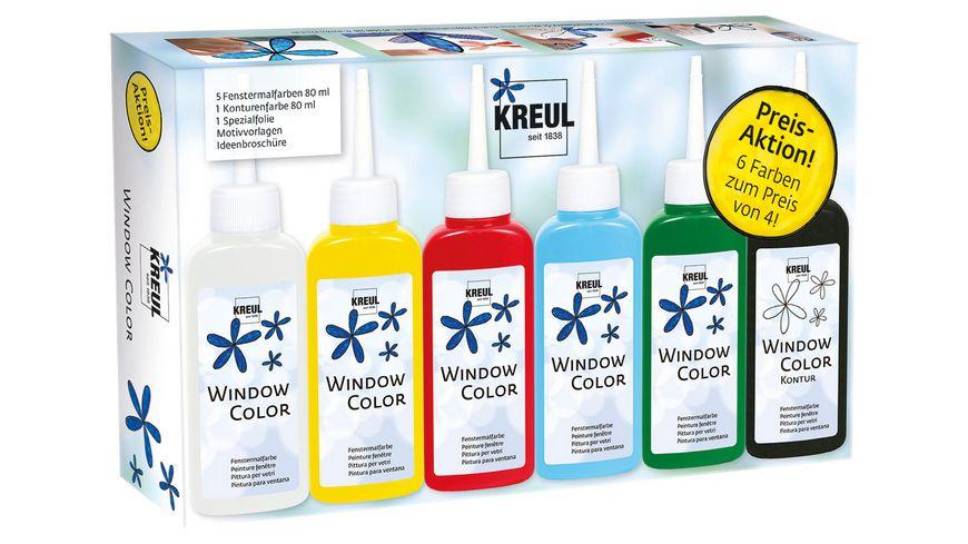 KREUL Window Color Set
