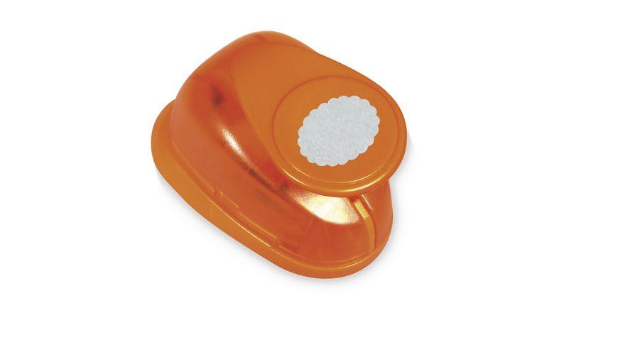 Rayher Motivstanzer oval mit Zierrand 5 08 cm