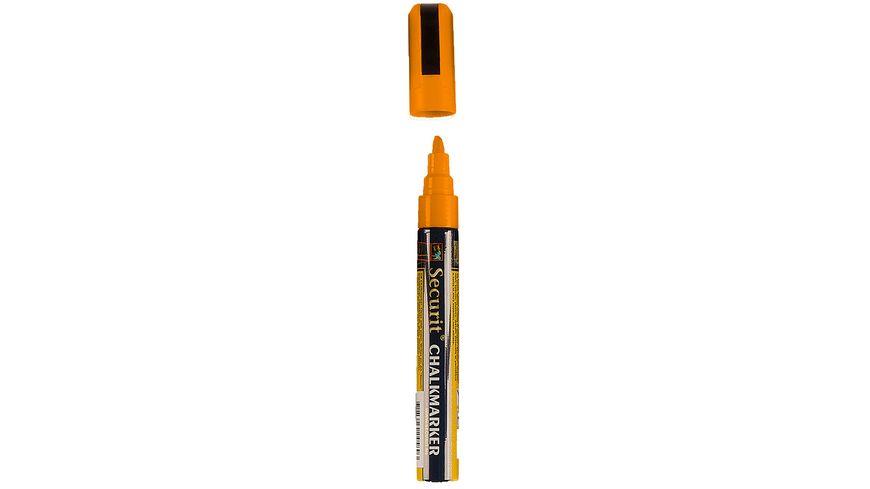 Securit Kreidemarker mittel orange