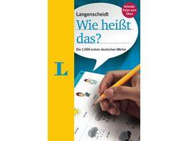 Langenscheidt Wie heisst das Deutsch als Fremdsprache