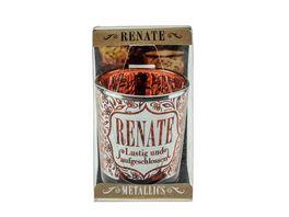 H H Metallics Kerze Renate