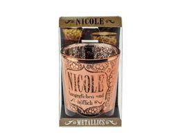 H H Metallics Kerze Nicole