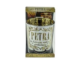 H H Metallics Kerze Petra