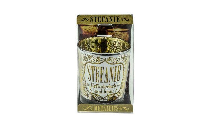 H H Metallics Kerze Stefanie