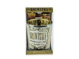 H H Metallics Kerze Roswitha