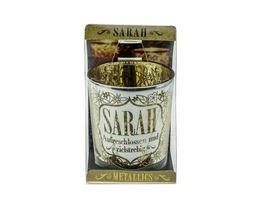 H H Metallics Kerze Sarah