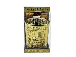 H H Metallics Kerze Sabrina