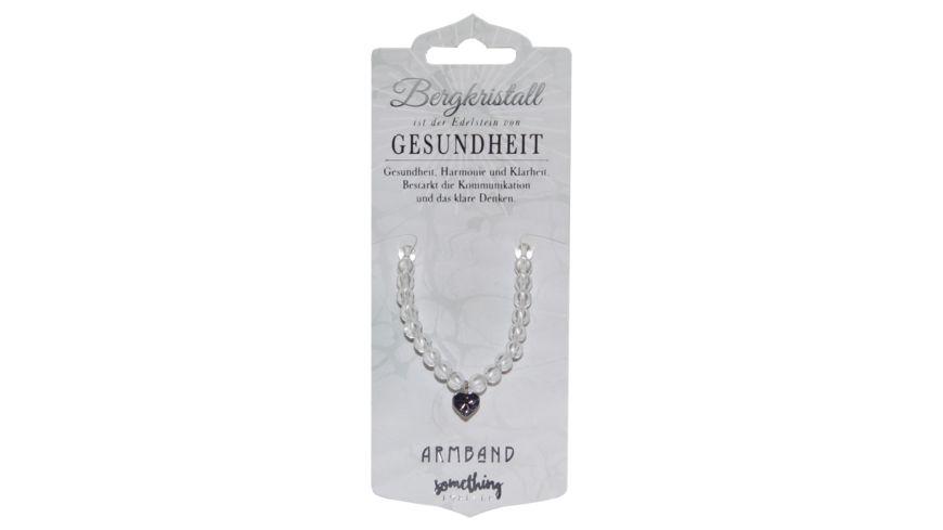 H H Armband Bergkristall
