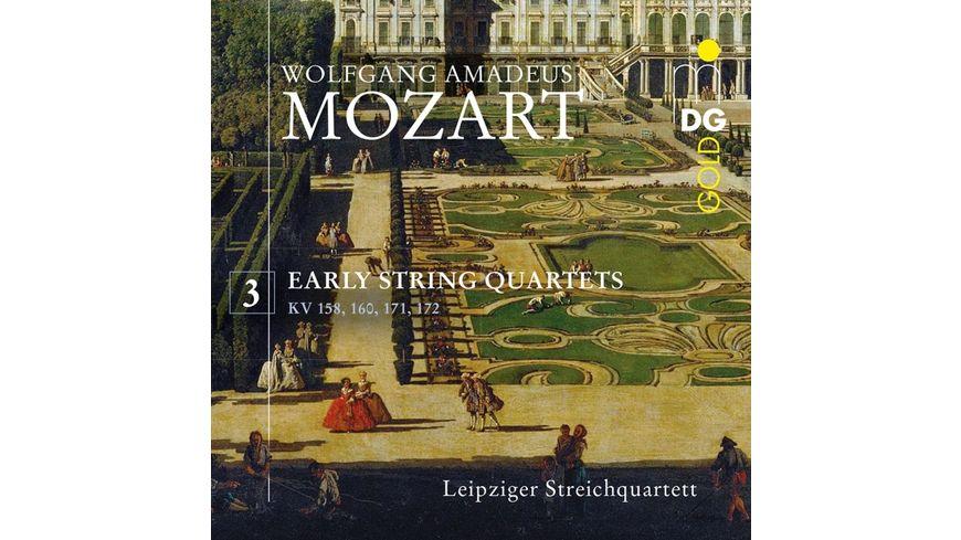 Fruehe Streichquartette Vol 3