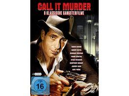 Call It Murder 4 DVDs