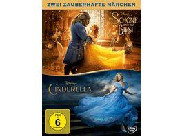 Die Schoene und das Biest Cinderella 2 DVDs