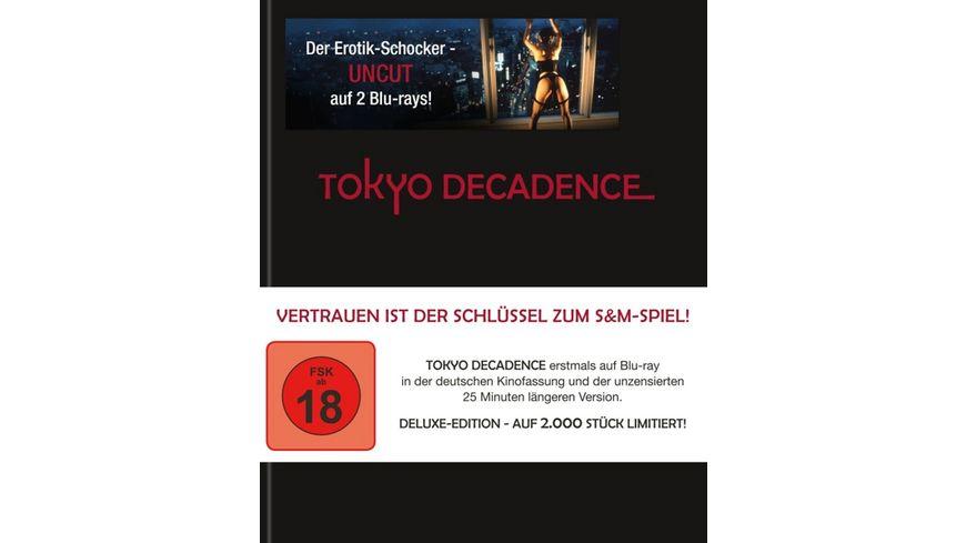Tokyo Decadence Langfassung im Limited Deluxe Leder Mediabook 2 BRs