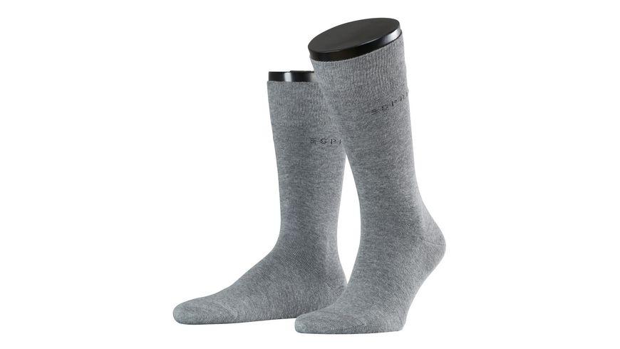 ESPRIT Herren Socken Basic Uni 2er Pack