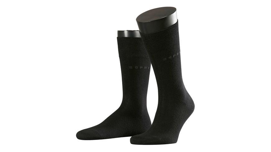 ESPRIT Herren Socken Basic Easy 2er Pack