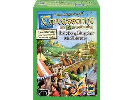 Hans im Glueck Strategiespiele Carcassonne Bruecken Burgen und Basare 8 Erweiterung