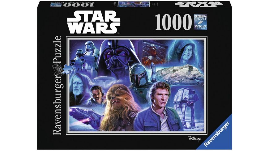 Ravensburger Puzzle Star Wars Collection 2 1000 Teile