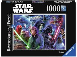 Ravensburger Puzzle Star Wars Collection 3 1000 Teile